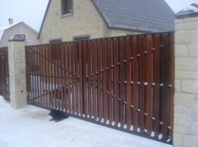Автоматические распашные ворота от НПМ «Сервис»