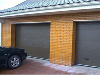 Ворота для обычного гаража от компании «SERVICE-VOROTA»