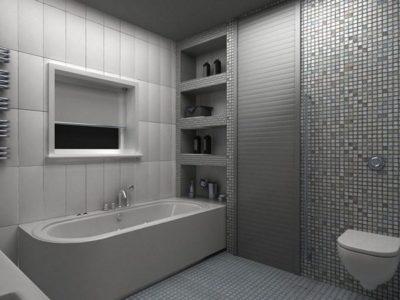 Ролет в ванной