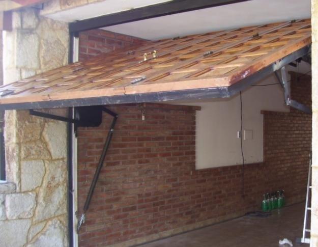 Как сделать двери в гараж своими руками из дерева