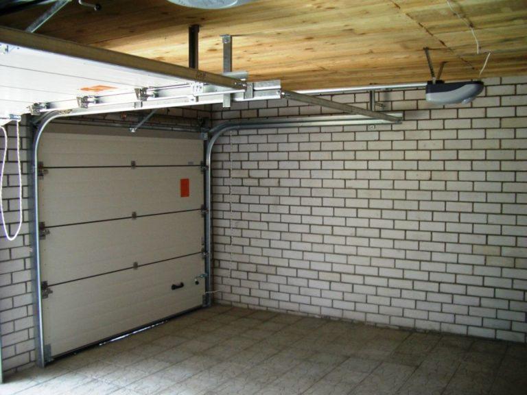 гаражные секционные ворота цена тюмень