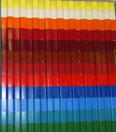 Цветовая палитра профлистов