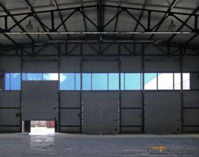 Ворота промышленного ангара