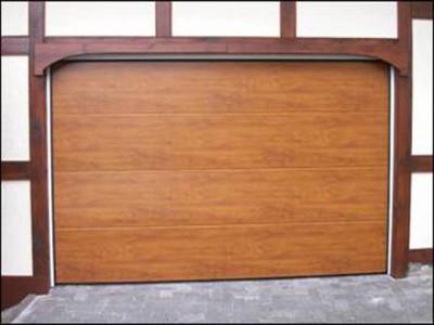 Вариант секционных гаражных ворот