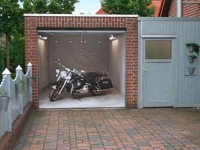 Гараж по стандартам для мотоциклиста