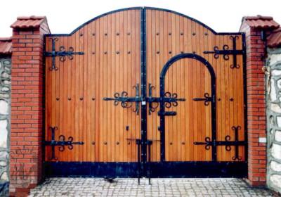 Гаражные ворота своими руками чертежи фото