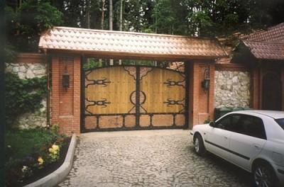 Оригинальные прочные ворота