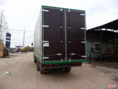 Ворота на грузовой газели