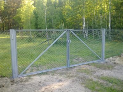 Ворота компании «Мастер заборов»