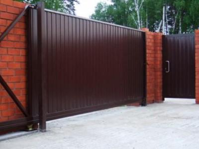 Ворота от компании «Твой дом»