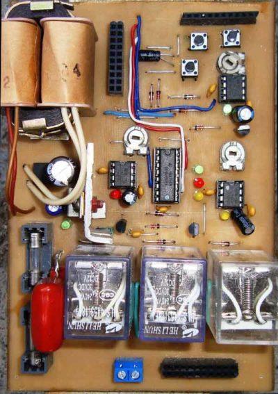 Микросхема электронного привода створок