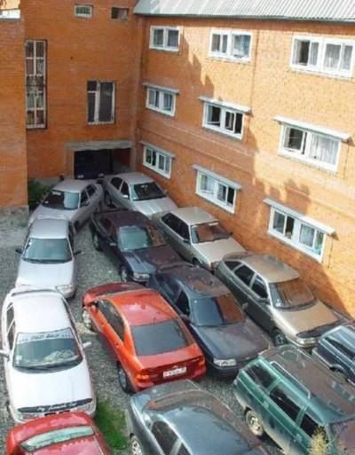 Проблема парковки во дворах