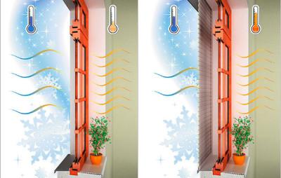 Сбережение тепла утепленными рольставнями