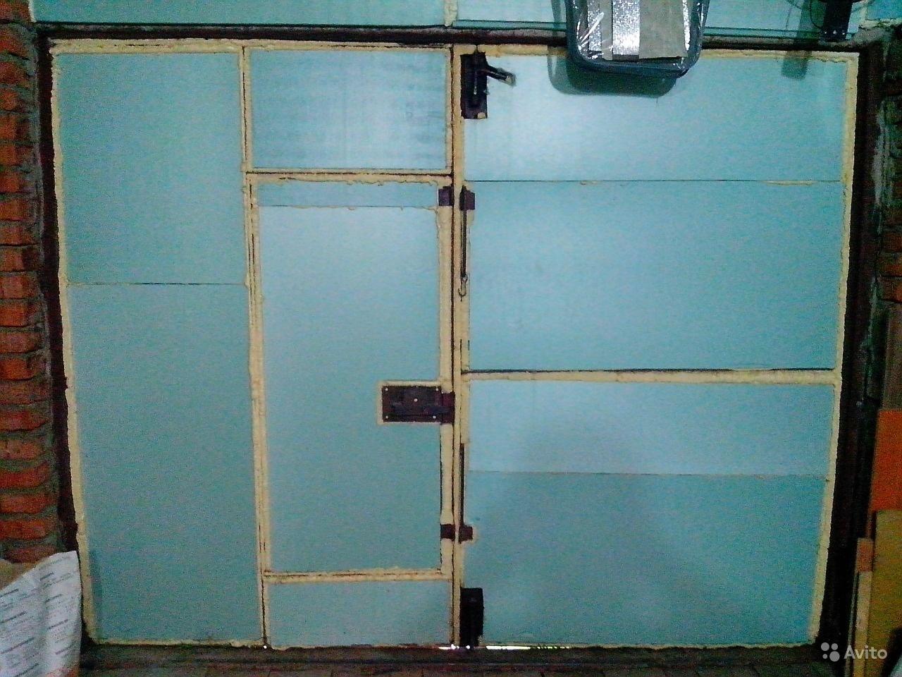 Ворота для гаража своими руками - изготовление и установка! 30