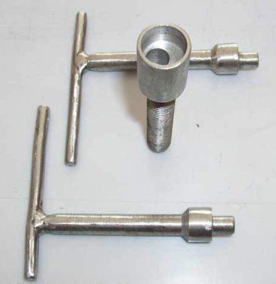 Комплектация винтового механизма